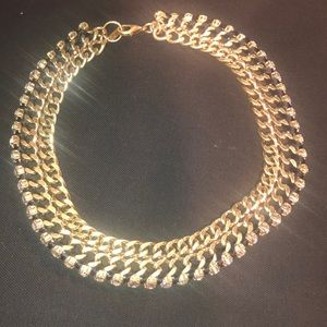 Reiss Chain Jewel Necklace